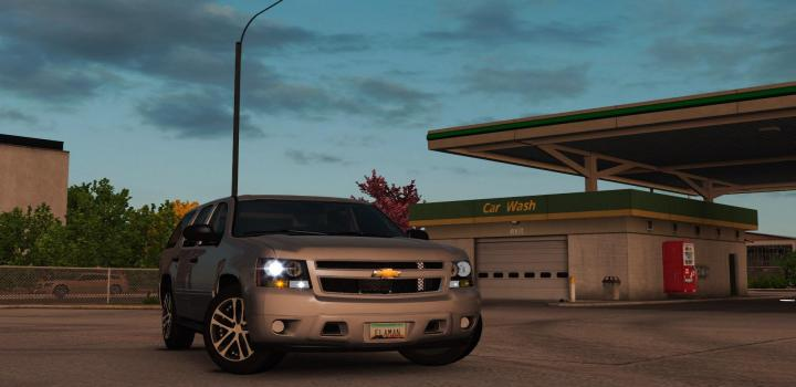 Photo of ETS2 – Chevrolet Tahoe 2007 (1.38.x)