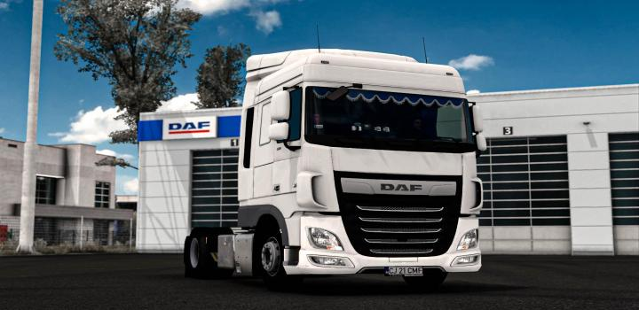 Photo of ETS2 – Daf Xf 106 With Curtains (1.38.x)