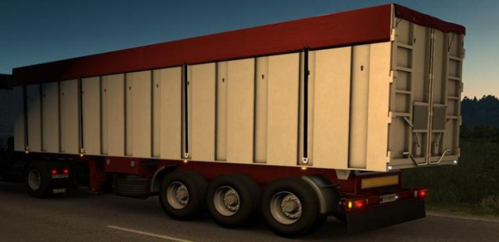 Photo of ETS2 – Fruehauf Vfk Ownable Tipper Trailer V1.0.1 (1.39.x)