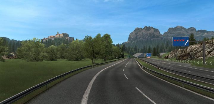 Photo of ETS2 – Grass V2 (1.38.x)