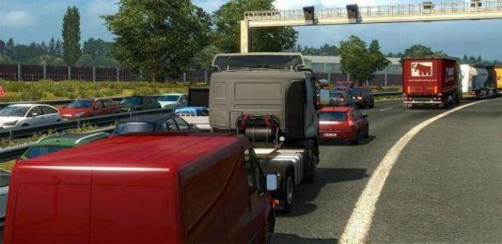 Photo of ETS2 – Hard Traffic Jam (1.38.x)