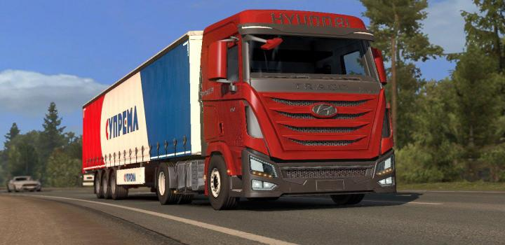 Photo of ETS2 – Hyundai Xcient V0.2 (1.38.x)