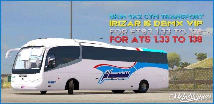 Photo of ETS2 – Irizar I6 – Compagnie De Transports Au Maroc Skin V0.4 (1.38.x)