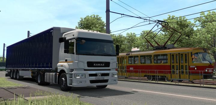 Photo of ETS2 – Kamaz 5490 Neo And 65206 + Full Set (1.39.x)