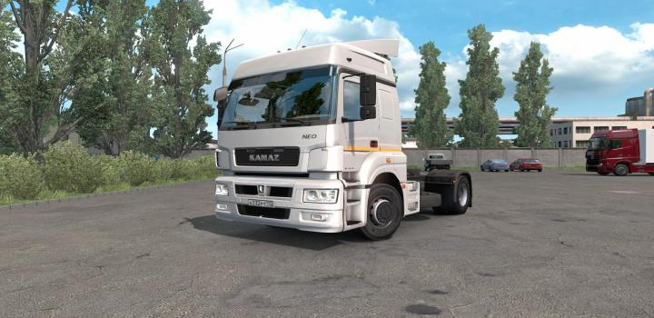 Photo of ETS2 – Kamaz 5490 Truck (1.39.x)