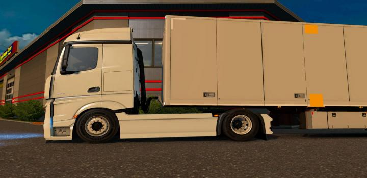 Photo of ETS2 – Low Deck Mod for Shumis Mp4 Actros (1.38.x)