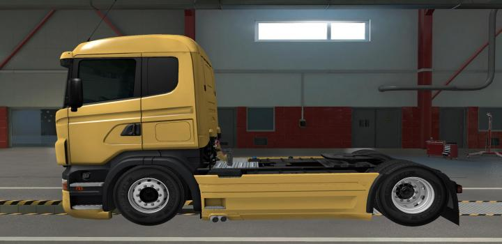 Photo of ETS2 – Lower Low Deck 4Xx Chassis For Rjl Scania (1.38.x)