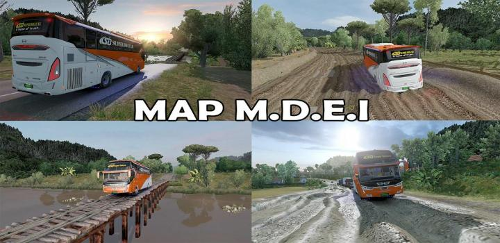 Photo of ETS2 – M.d.e.i Reworked Map (1.38.x)