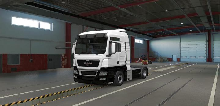 Photo of ETS2 – Man Tgx Two Tone Paint (1.38.x)