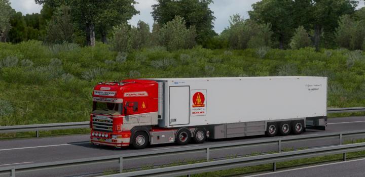Photo of ETS2 – P.bjarne Andersen Scania 164G 580 + Trailer (1.39.x)