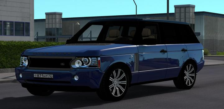 Photo of ETS2 – Range Rover Supercharged 2008 V5 (1.38.x)