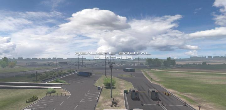 Photo of ETS2 – Realistic Brutal Weather V5.7 (1.38.x)