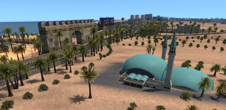 Photo of ETS2 – Red Sea Map V1.1.1 (1.38.x)