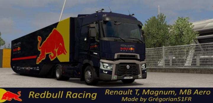 Photo of ETS2 – Redbull Racing Skins V1 (1.38.x)