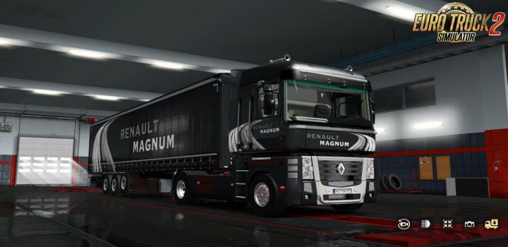 Photo of ETS2 – Renault Magnum Updates V25 (1.39.x)