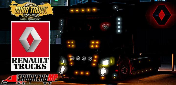 Photo of ETS2 – Renault T V8 Custom Tuning for Multiplayer Truckersmp V1 (1.38.x)