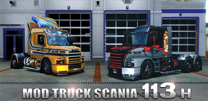 Photo of ETS2 – Scania 113H T V2.8 (1.39.x)