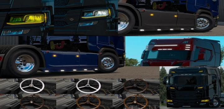 Photo of ETS2 – Scania Next Gen Accesories V1.2 (1.38.x)