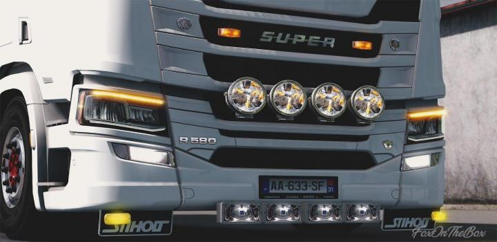 Photo of ETS2 – Scania Next Generation Tuning Slots (1.39.x)