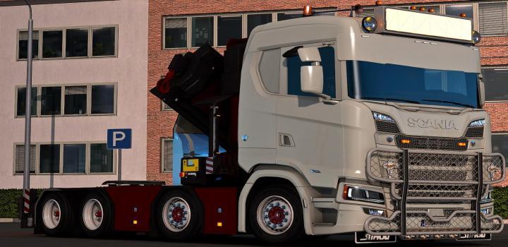 Photo of ETS2 – Scania Ng Cranechassi V1.0 (1.38.x)