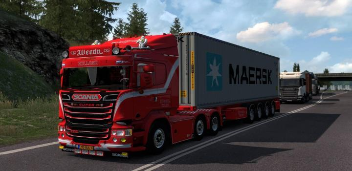 Photo of ETS2 – Scania R450 & Trailer (1.38.x)