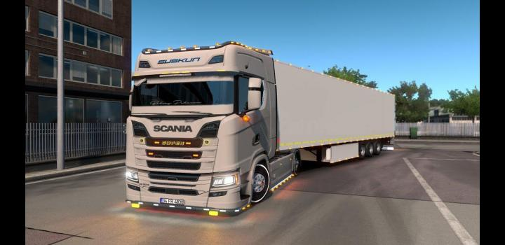 Photo of ETS2 – Scania Simple Edit V2 (1.38.x)