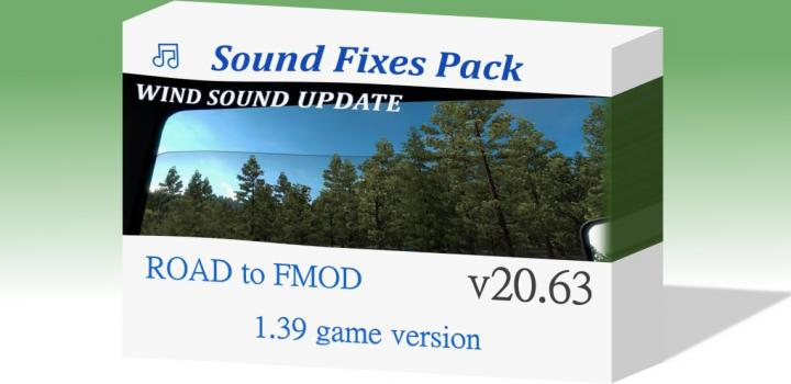 Photo of ETS2 – Sound Fixes Pack V20.63 (1.39.x)