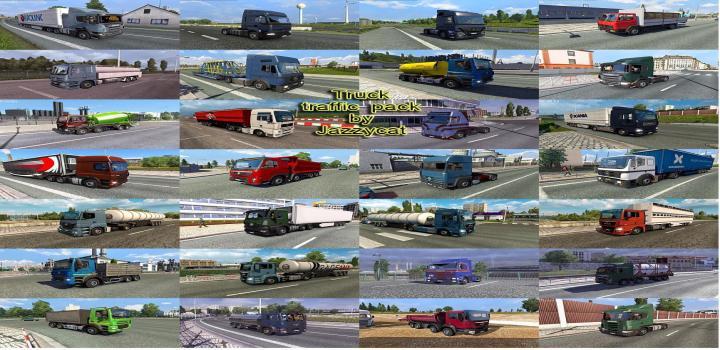 Photo of ETS2 – Truck Traffic Pack V5.0 (1.38.x)