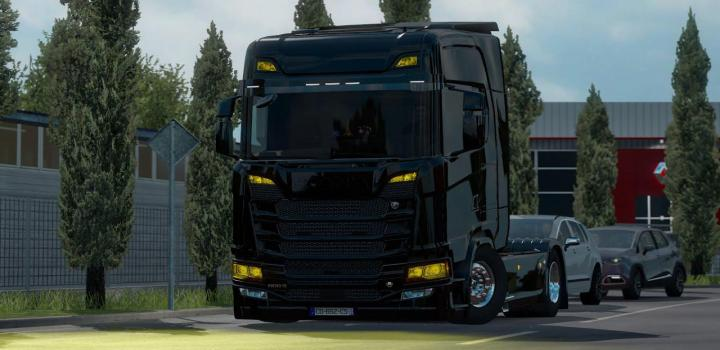 Photo of ETS2 – Yellow Light Trucks (1.39.x)