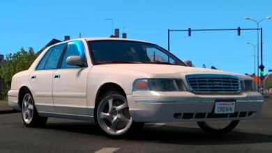 Photo of ETS2 – Ford Crown Victoria 2012 V3 (1.38.x)