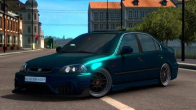 Photo of ETS2 – Honda Civic Ies V6 (1.38.x)
