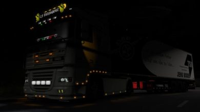 Photo of ETS2 – Light Slot In The Fender (1.39.x)