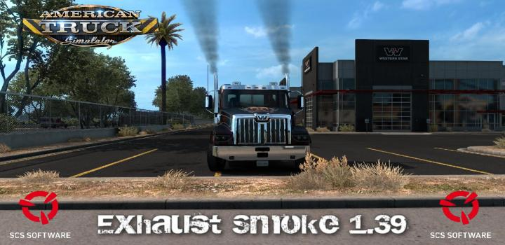 Photo of ATS – Exhaust Smoke (1.39.x)