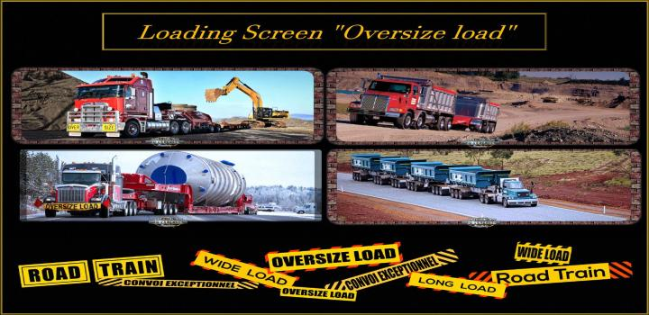 Photo of ATS – Loading Screen Oversize Load V1.3 (1.39.x)