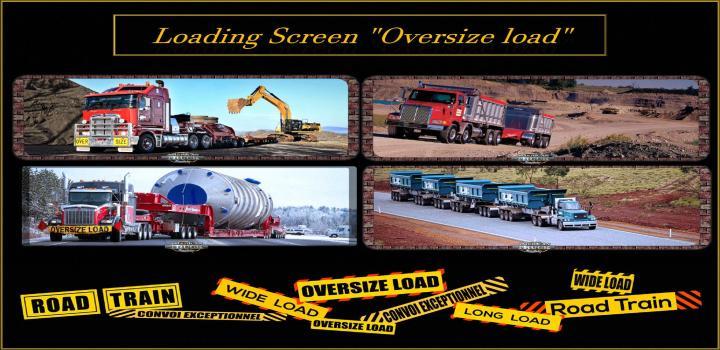 Photo of ATS – Loading Screen Oversize Load V1.3 (1.39.x)