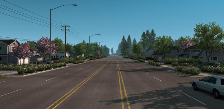 Photo of ATS – New Summer Graphics/Weather V1.2 (1.39.x)
