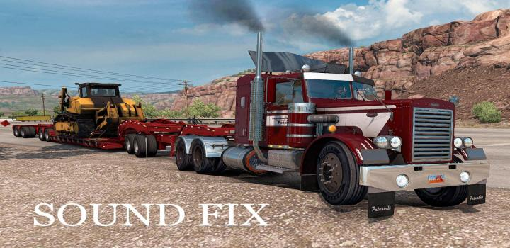 Photo of ATS – Sound Fix For Peterbilt 281-351 Mtg 1.25 (1.39.x)