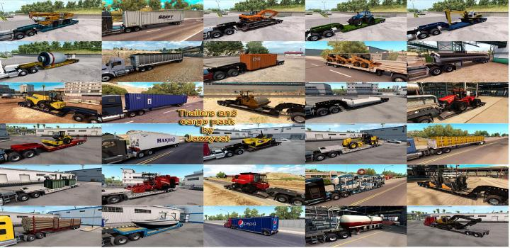 Photo of ATS – Trailers And Cargo Pack V3.9.3 (1.39.x)