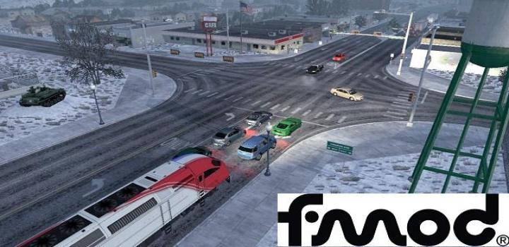 Photo of ATS – Trains Everywhere (Road Nightmare) Addon For Traffic Density (1.39.x)