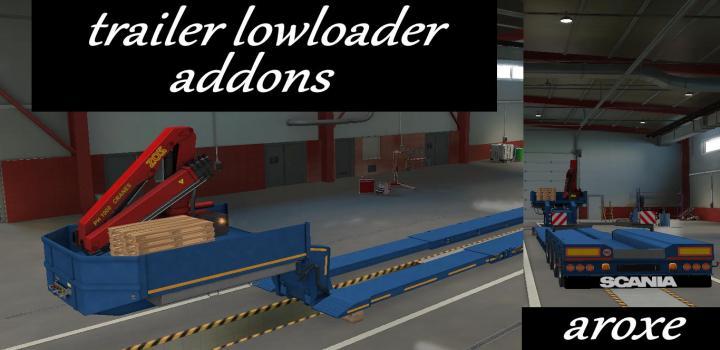 Photo of ETS2 – Addons Trailer Lowloader (1.39.x)