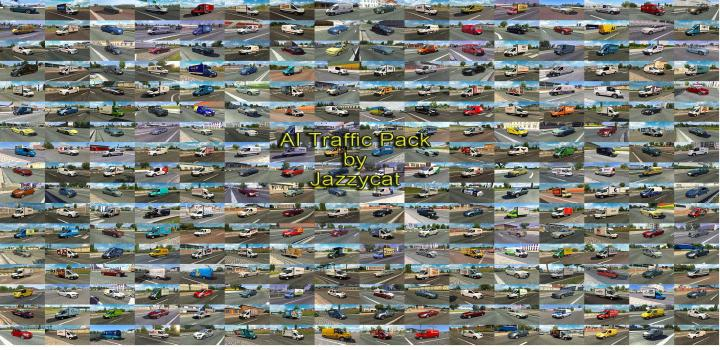 Photo of ETS2 – Ai Traffic Pack V14.0 (1.39.x)