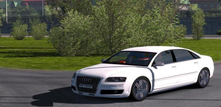 Photo of ETS2 – Audi A8 W12 V3 (1.39.x)