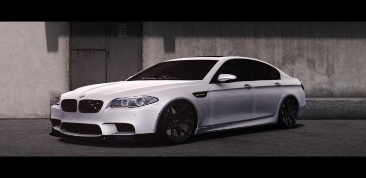 Photo of ETS2 – Bmw M5 F10 V2.0 (1.39.x)