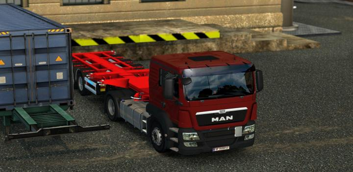 Photo of ETS2 – Fix For Man Tgs Euro 6 V1.1 (1.39.x)