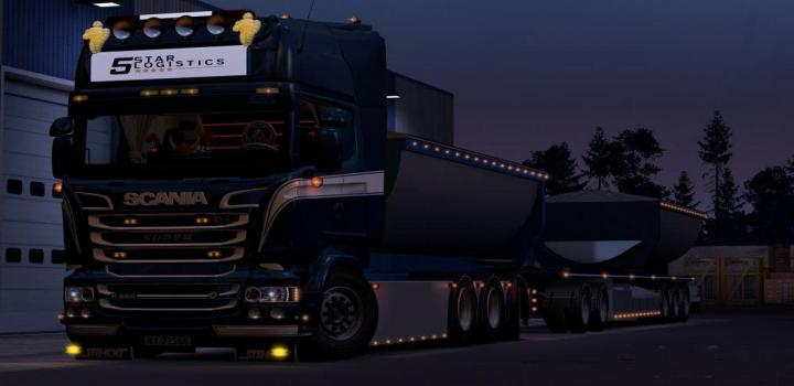 Photo of ETS2 – Hoga Kusten Skin V1 (1.39.x)