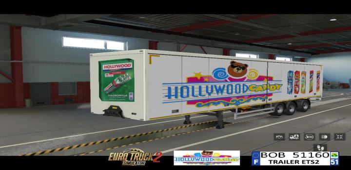 Photo of ETS2 – Hollywood Candy Skin V1 (1.39.x)