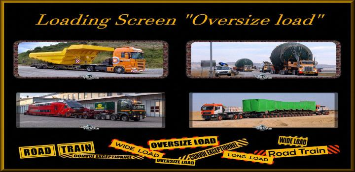 Photo of ETS2 – Loading Screen Oversize Load V1.3 (1.39.x)