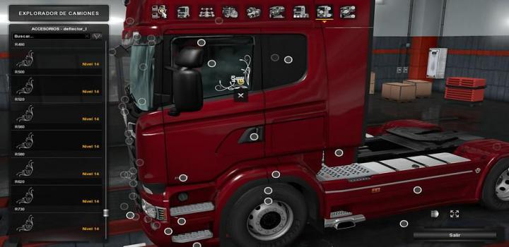 Photo of ETS2 – Low Deck Improved Chassis For Rjls Scania R&S, R4, P4, P&G V1.5 (1.39.x)