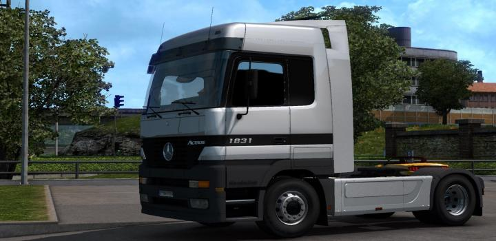 Photo of ETS2 – Mercedes Actros Mp1 Update Fix Bug + Add New Sound (1.39.x)