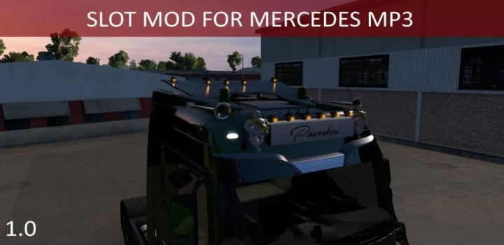 Photo of ETS2 – Mercedes Actros Mp3 Slots V1 (1.39.x)